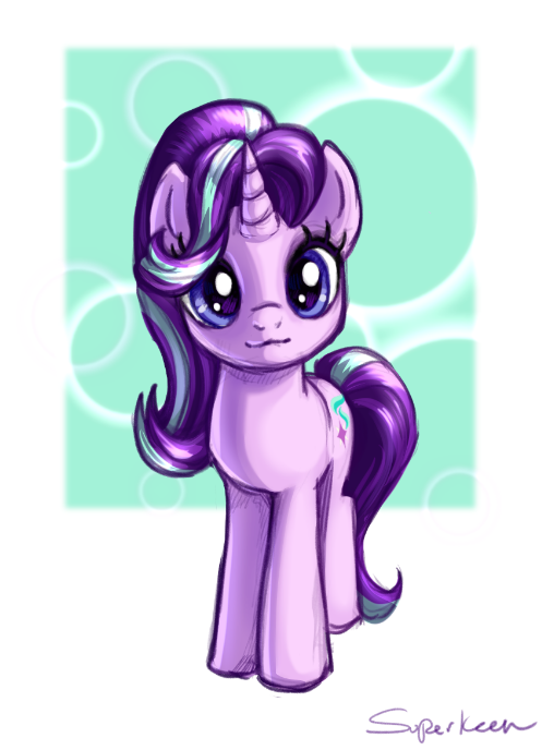 1153317 3 Artist Superkeen Cute Glimmerbetes Looking At You Safe Smiling Solo Starlight Glimmer My Little Pony Twilight Little Pony My Little Pony
