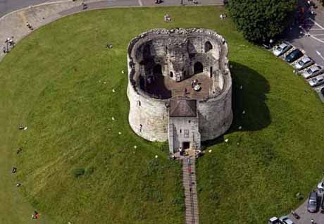 Clifford S Tower York Uk Motte And Bailey Castle Castle