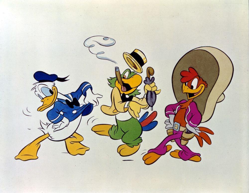 Panchito Pistoles/Gallery   the three caballeros   Three