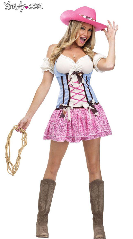Rodeo Sweetie Costume Halloween Cowgirl Costume