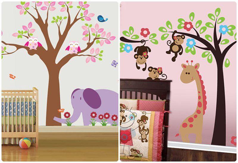 Resultado de imagen para fotografias de dibujos animados for Decoracion para habitacion de bebe nina