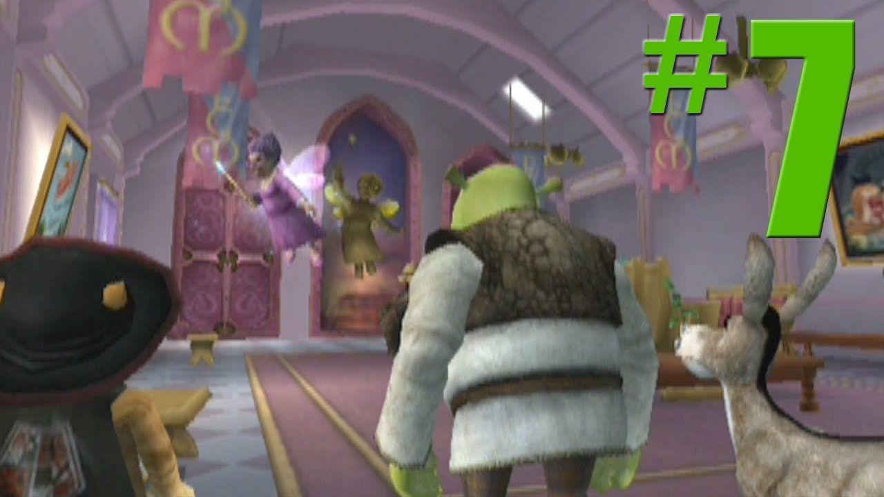 Shrek 2 Game Walkthrough Part 7 Fairy Godmother S No Commentary Gameplay Gamecube Xbox Ps2 In 2020 Shrek Fairy Godmother Godmother