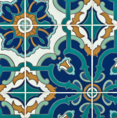 Ceramic Art Tile Kibak Ann Sacks Stone Mediterranean Kitchen