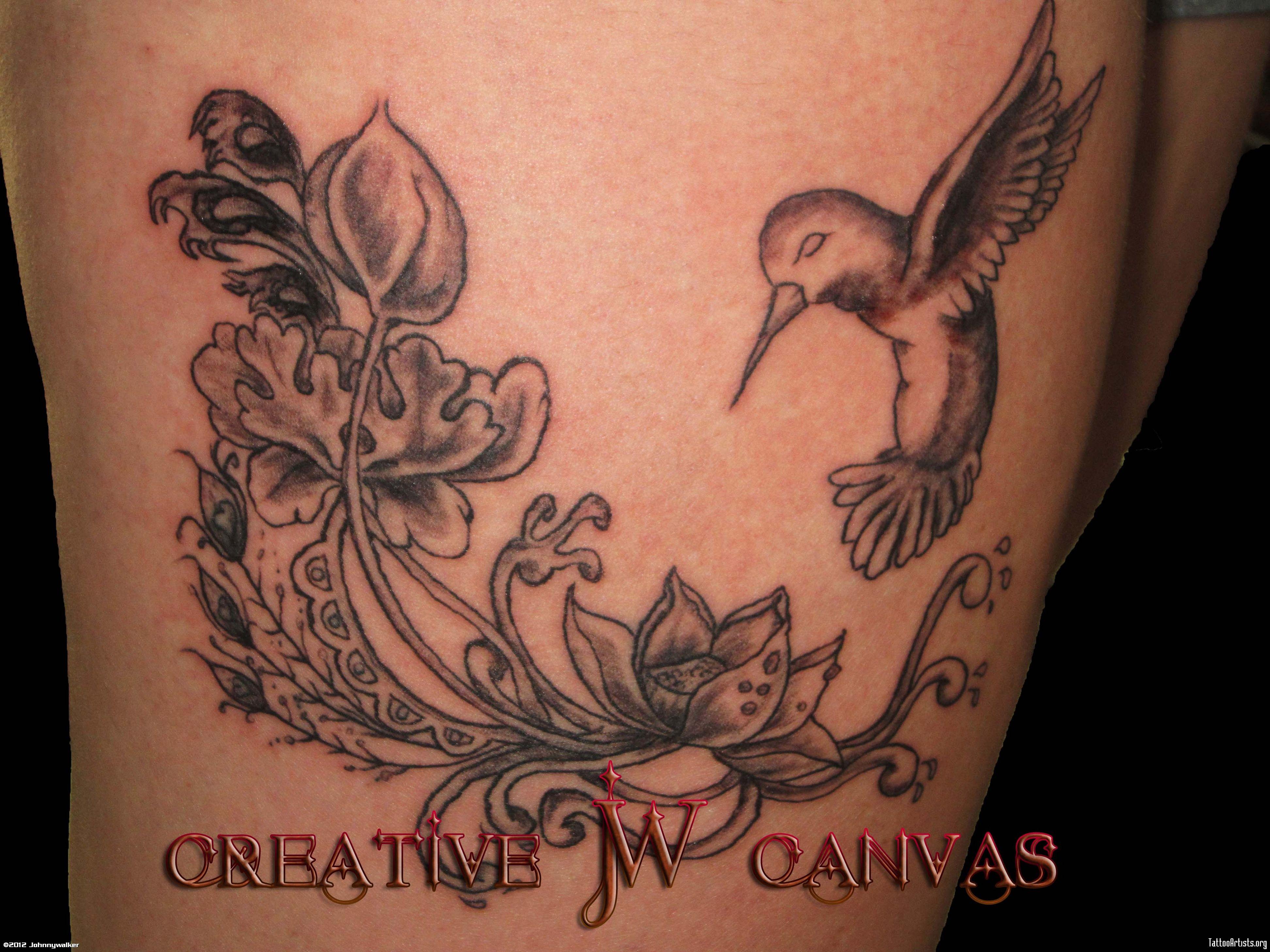 De colibri en la espalda significado tatuaje colibri tatuaje tattoo - Tatuaje De Colibr Hummingbird Tattoo Artistsorg