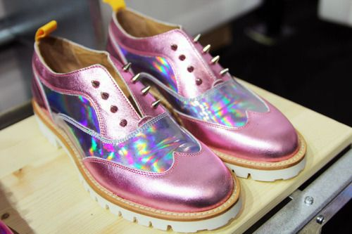f8864cd67aea Pink studded bowling shoes. Pink studded bowling shoes Iridescent Clothing  ...
