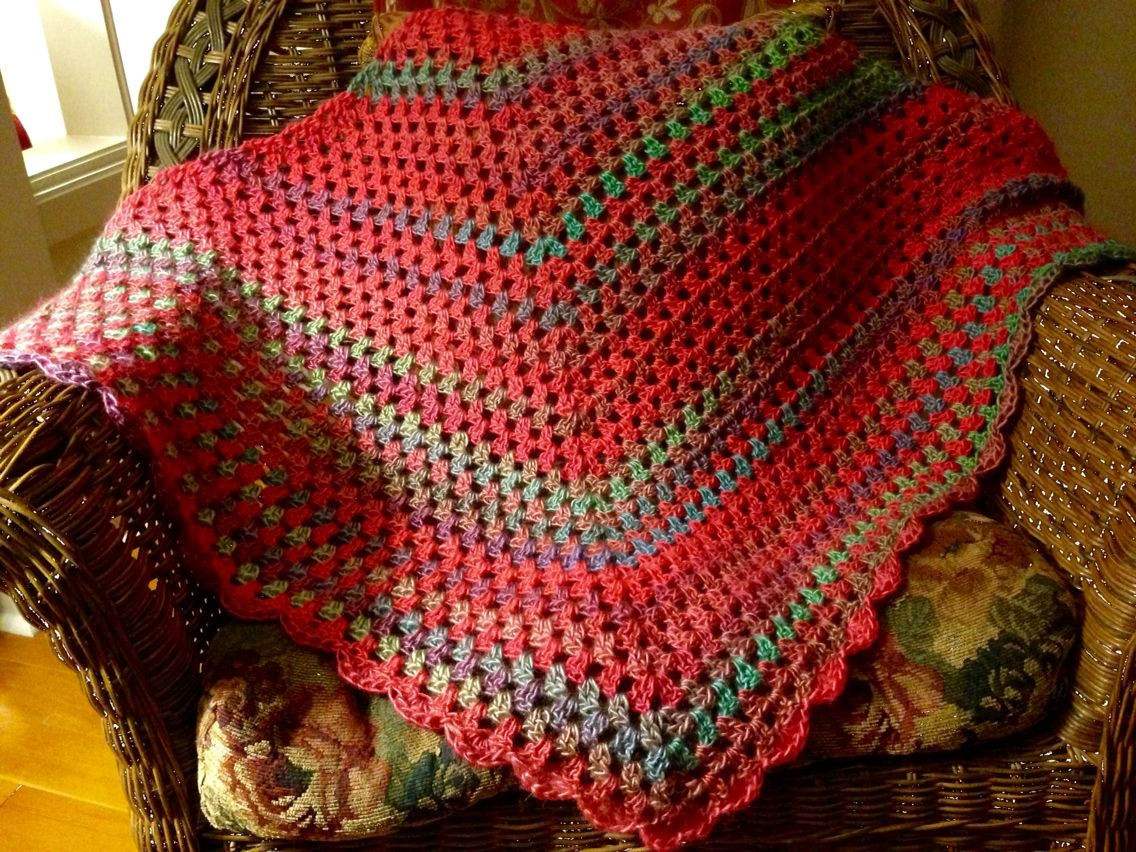 Crocheted, \