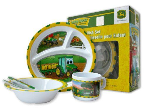 John Deere Johnny Tractor Childs 5 Piece Table Set $10.95 (save $7.04)  sc 1 st  Pinterest & John Deere Johnny Tractor Childs 5 Piece Table Set $10.95 (save ...
