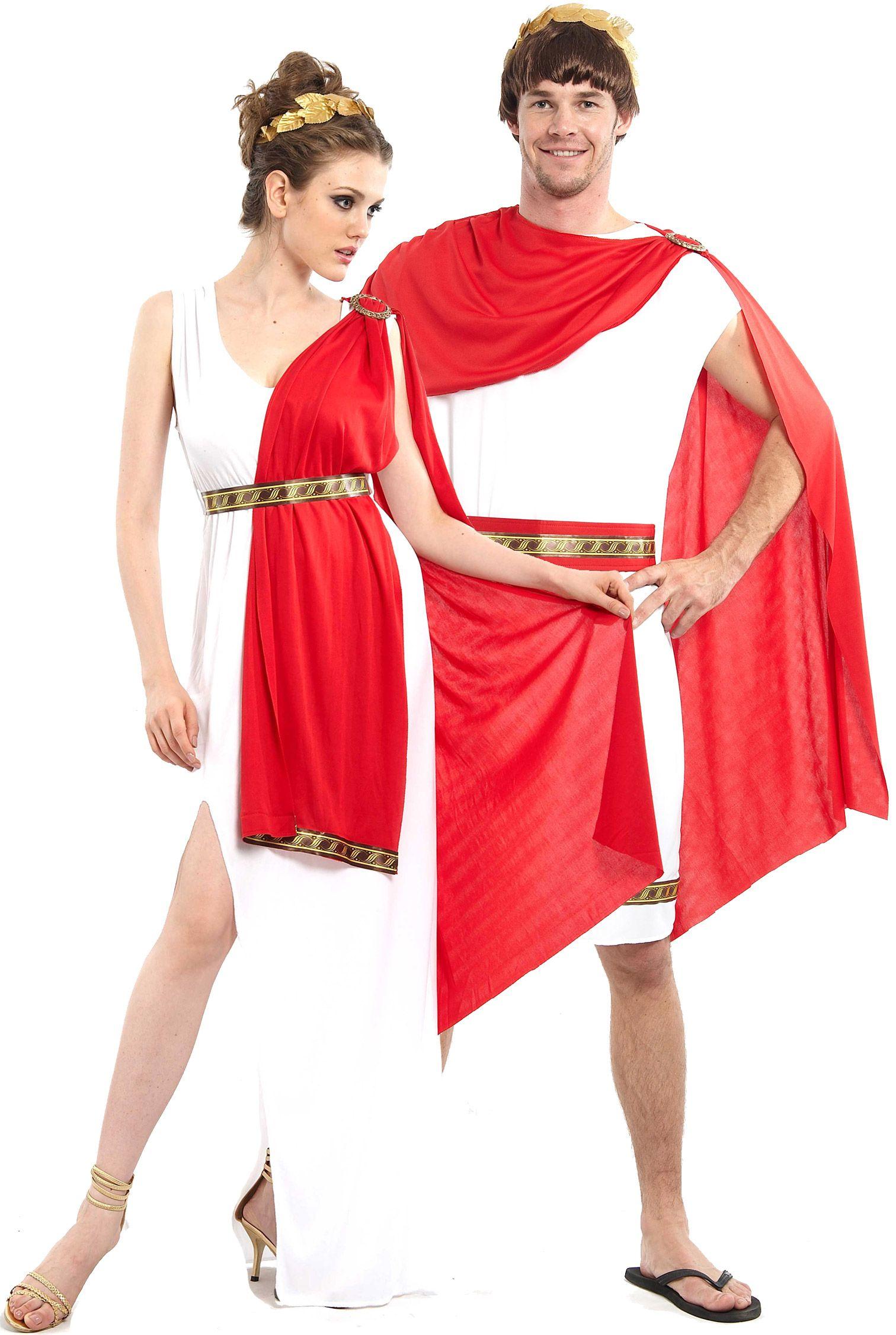 Costume di coppia da antichi romani  per chi come voi ha voglia di  divertirsi ma 31a4ca1604d
