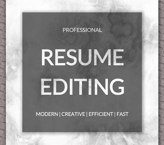 Professional Resume Editing CV Editing FREE Resume - resume editing