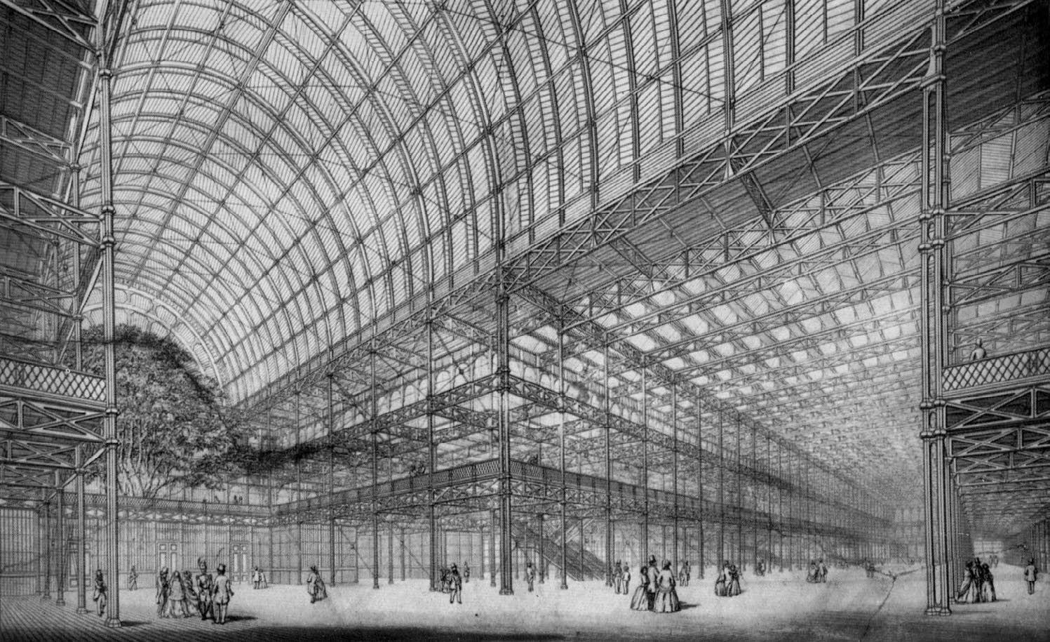 Crystal Palace Joseph Paxton. London, England 1851