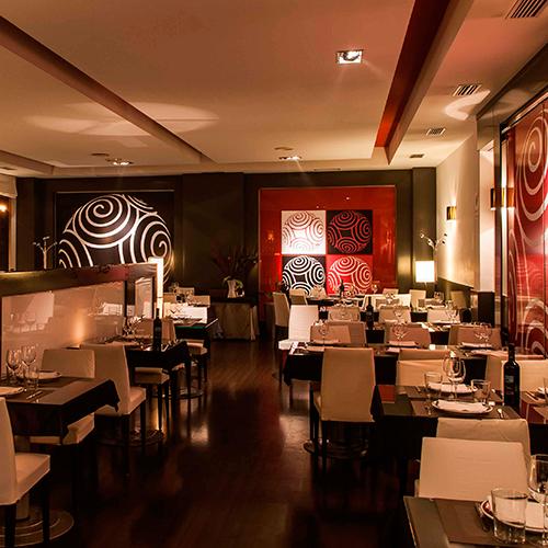 tendencia moderno restaurante