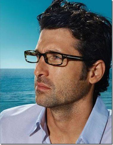 Patrick Dempsey Versace Glasses Spectacles Glass Patrick