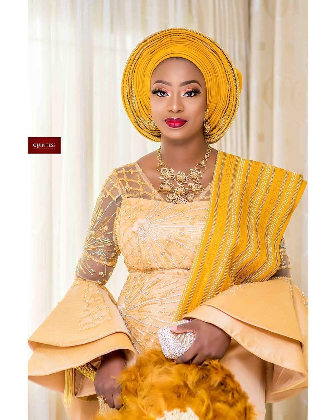 #TWO2019 #Bride ~ iamwuraola_ade #Groom ~ akogun_owoaje #MUA ~ oteniaramakeovers #AsoOke ~ loola.o.b...