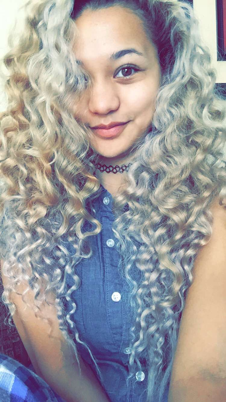 """no heat curls after wearing """"boxer braids"""" for a day 