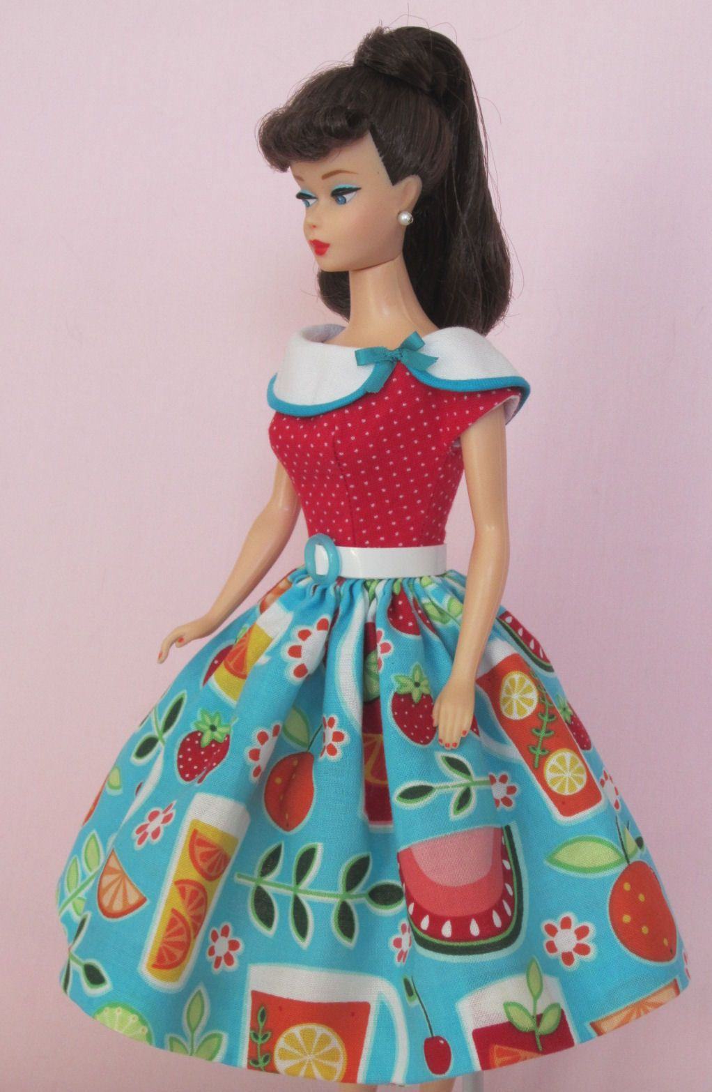 Vintage Barbie Doll Dress Reproduction Repro Barbie Clothes By Eggie On Ebay Http Www Ebay Com Itm Vintage Barbie Clothes Vintage Barbie Dolls Barbie Fashion