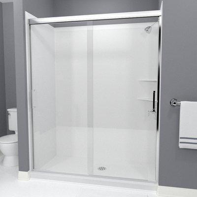 Arizona Shower Door Tombstone 60 X 70 38 Bypass Semi Frameless Shower Door Shower Doors Shower Enclosure Doors