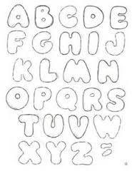 Resultado de imagem para moldes de letras para patch aplique para imprimir