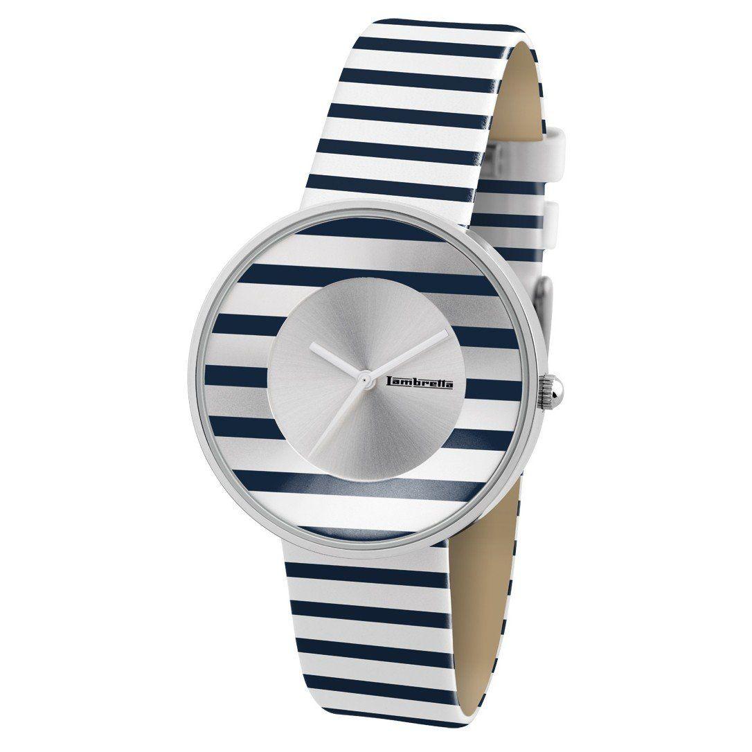 Reloj+Lambretta+Cielo+de+Rayas+Blancas+y+Azules+ $54.00