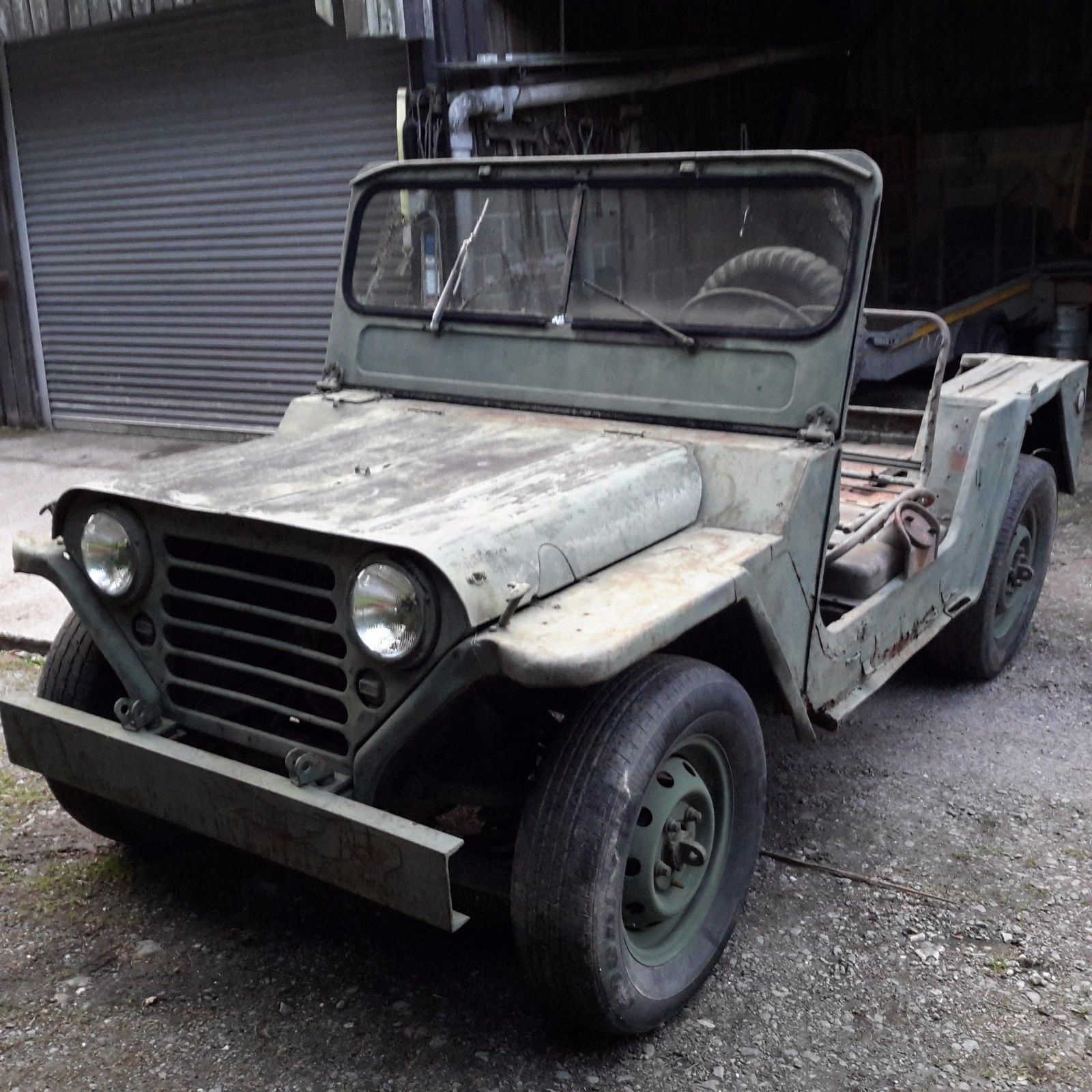 Jeep Lancaster: EBay: Willys Jeep Kaizer M151a1 Mutt Jeep 1964 Military