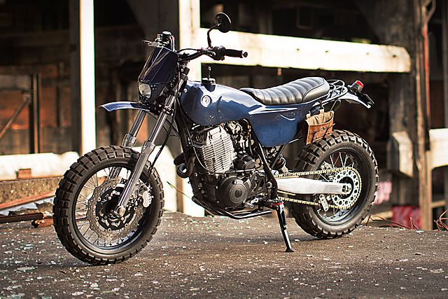 '90 Yamaha XT600 - Freeride Motos. A polymath is defined as a person whose expertise spans a significant number of different subject areas. And naturally, if such a person is set a complex task to perform, it would be easy for them to draw on complex bodies of knowledge to solve the specific problems they might encounter. Turn a mind like that to the act of customising a bike, and...