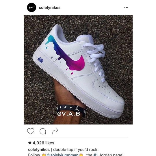 Nike Air Force 1 customs, AF1 custom, Air force Ones, All white floral  design Nike custom, cute and trendy design | Nike custom, Nike air force  and Air ...