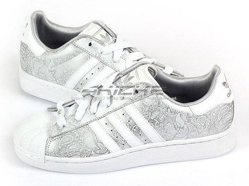 Adidas Originals Superstar 2 W Metallic Silver/White Trefoil 3-Stripes  G63094