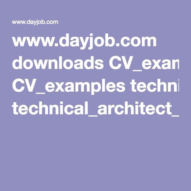dayjob cv templates