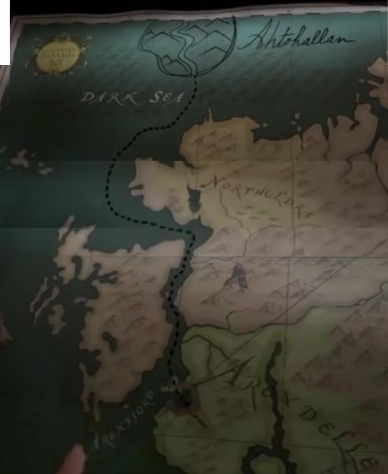 Map Of Arendelle Ahtohallan From The Movie Frozen Movie Map Frozen Movie Disney Art