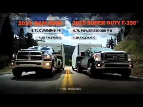Ford F 350 Super Duty Vs Dodge Ram 3500 And Chevrolet Silverado