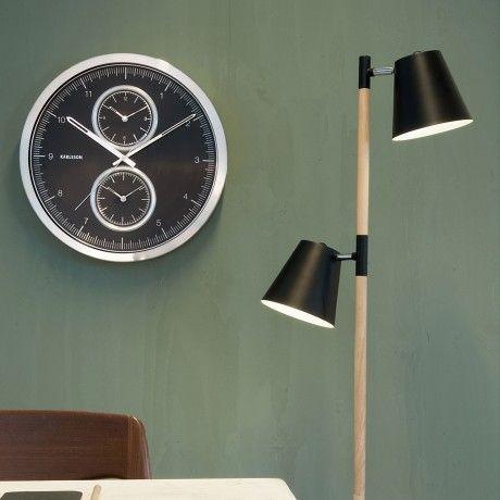 Monoqi rubi stehleuchte schwarz licht ideen stehleuchte schwarz stehen und stehlampe - Leuchtschrift wand ...