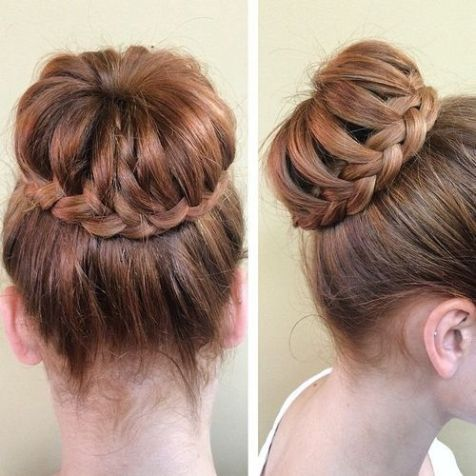 35 Braided Buns Re-inventing the Classic Style #braidedbuns