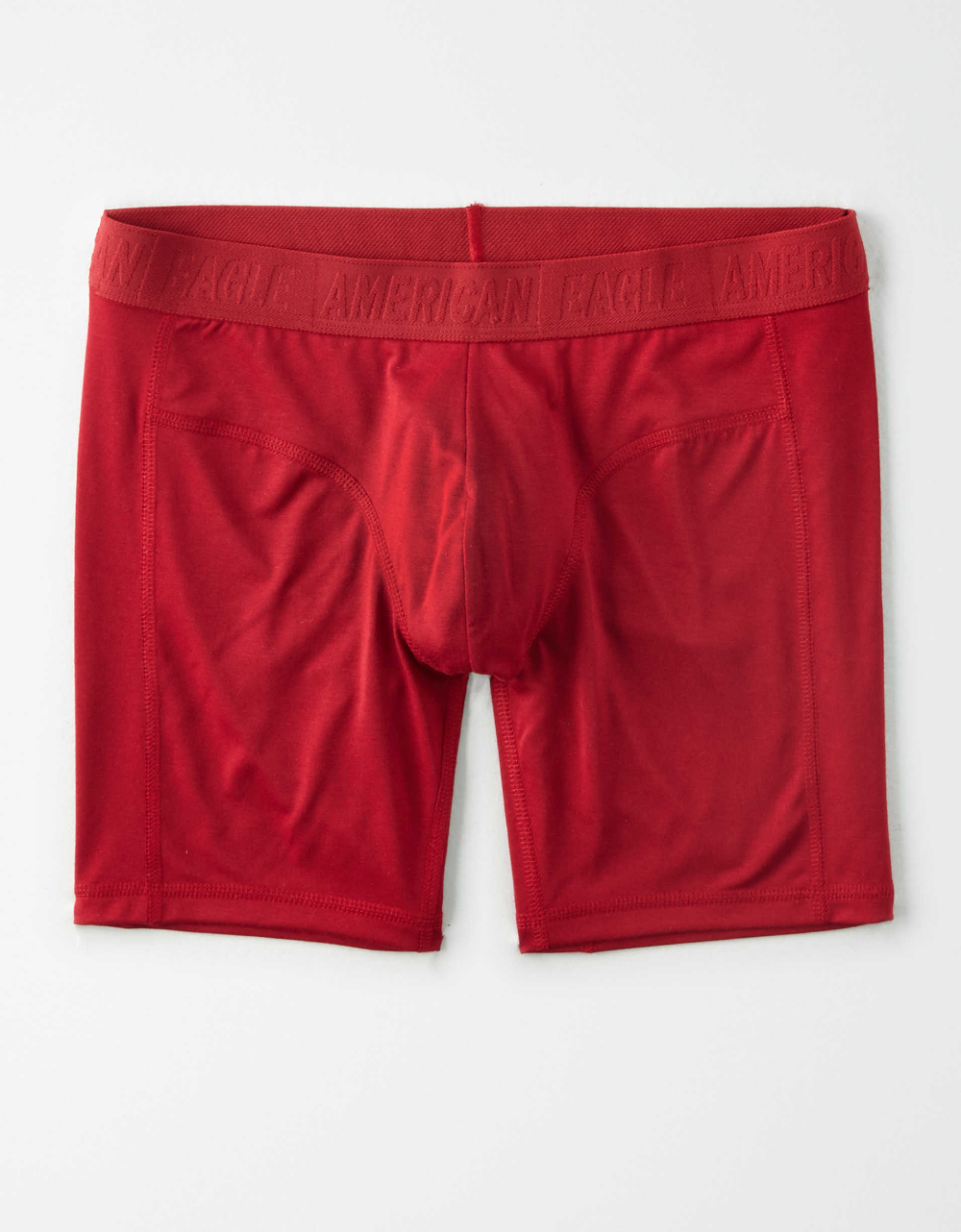 Sheep On Red Boxer Briefs Mens Underwear Pack Seamless Comfort Soft
