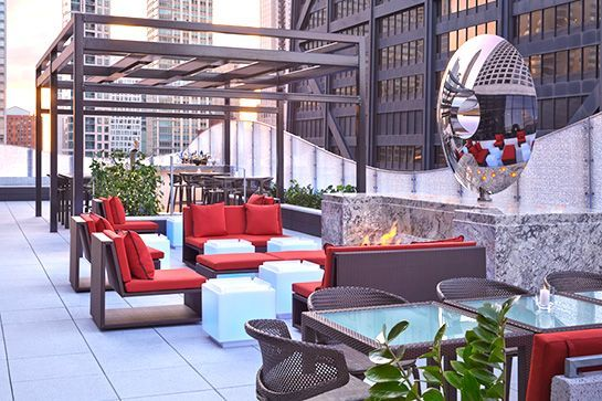 Chicago Rooftops Best Places To Eat And Drink Alfresco