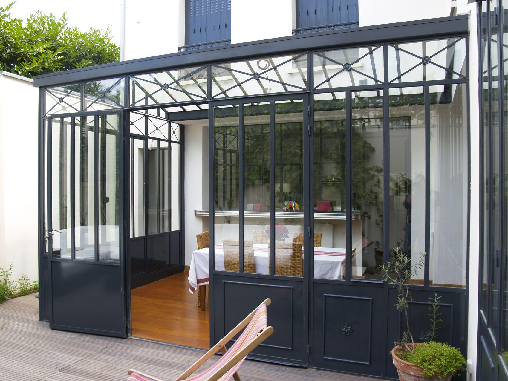 veranda type atelier d artiste netvani. Black Bedroom Furniture Sets. Home Design Ideas