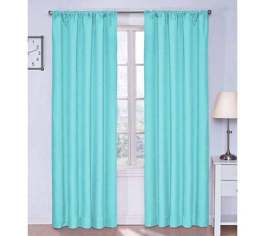 """Eclipse Kendall Thermaback Curtains 42"""" X 63"""" Room"""