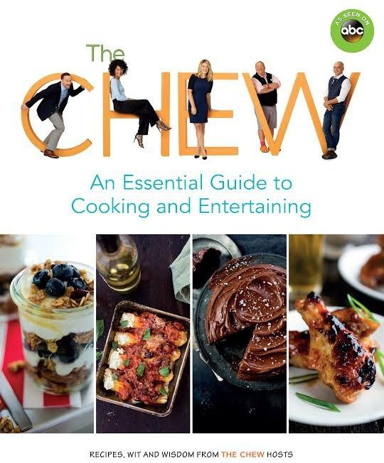 "ABC's hit show ""The Chew"" has a new book! - My Silly Little Gang"
