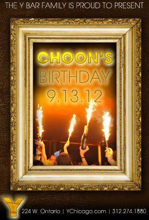 Tonight at Y Bar Choon's B-day and Clinton Sparks B-day At Mid, Friday Oscar G at Y and Crescendo, Saturday Stacie Todd and Joachim Garraud