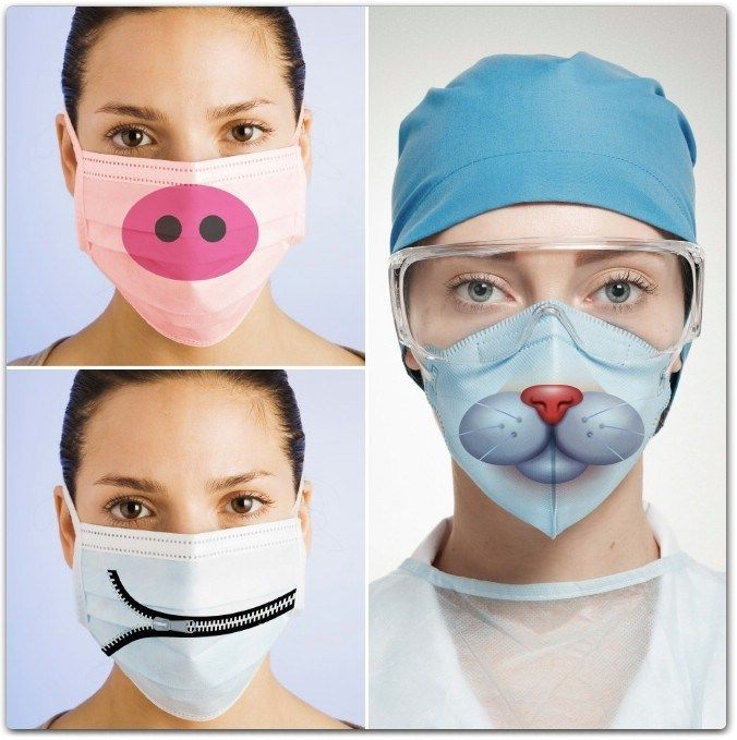 15 Creative and Funny Surgical Masks Creative, Funny, Mask