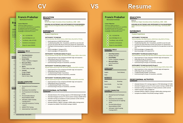 What S The Difference Between Cv Vs Resume In 2020 Resume How To Make Resume Resume Tips
