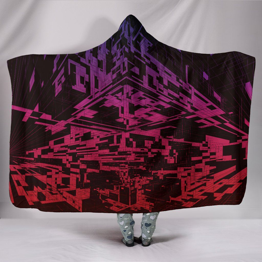 Photo of Aftermath – Hooded Blanket – Aftermath / Adult 80×60