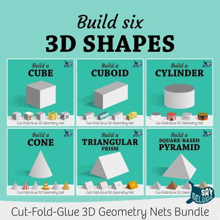 Pin On Build A 3d Shape Printables