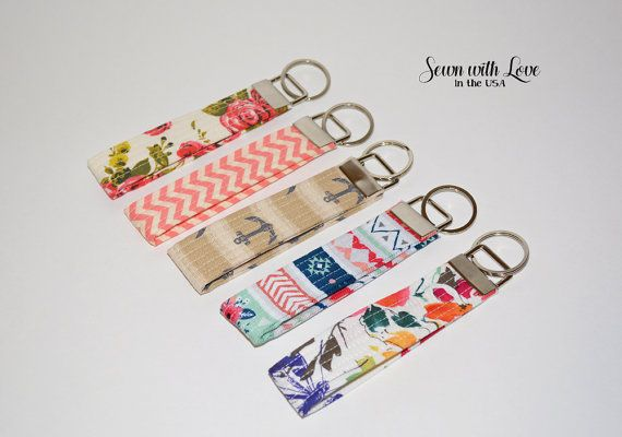 Key Fob Style Key Chain  Gift Idea  by SewnWithLoveInTheUSA