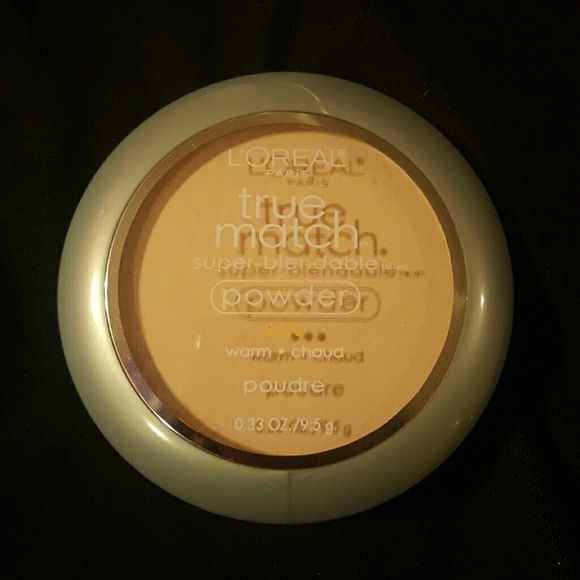 L'Or?al true match powder L'Or?al true match powder in porcelain  Too dark for me, used once, took the sponge out since I used it loreal Makeup Face Powder