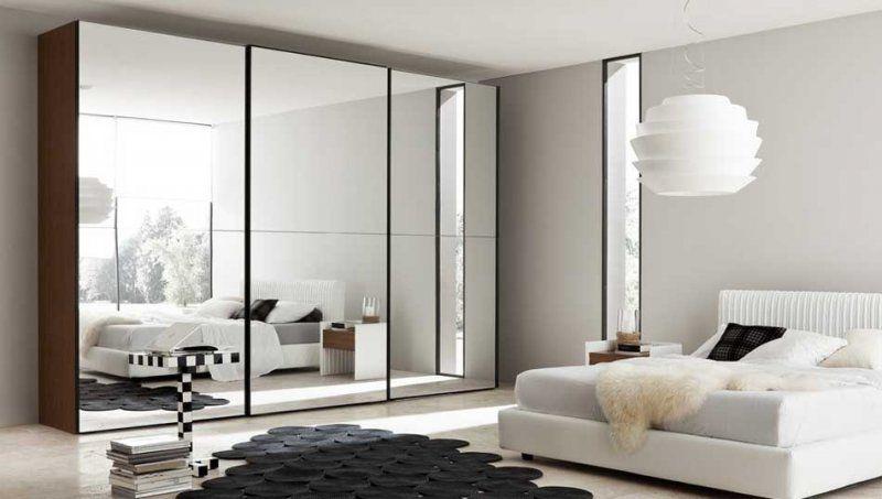 Fresh Kleiderschrank Schiebetüren Spiegel Einrichtungsideen