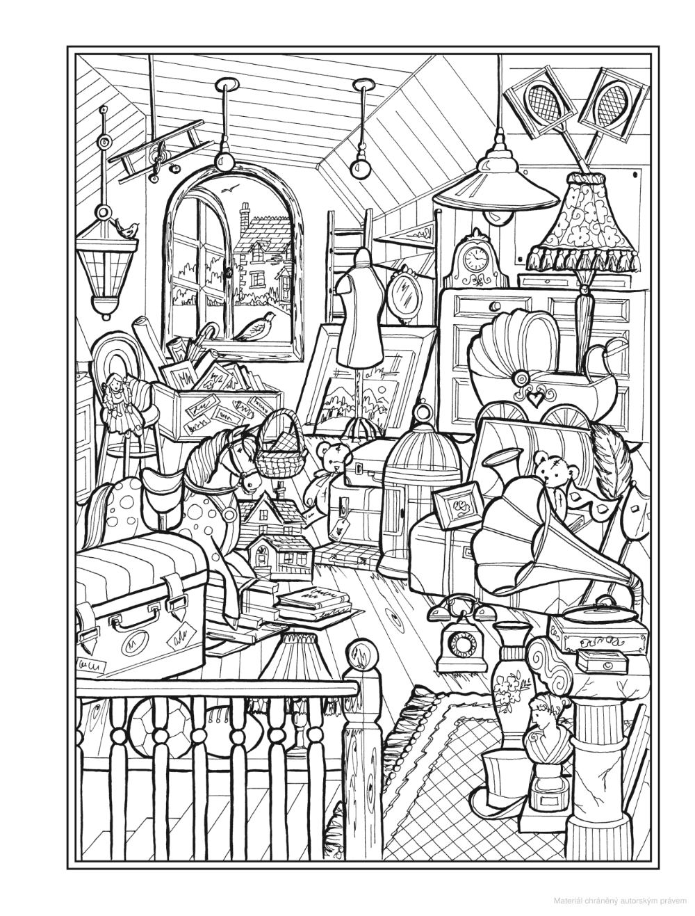 Creative Haven Home Sweet Home Coloring Book Teresa Goodridge Knihy Google Coloring Books Free Coloring Pages Coloring Pictures