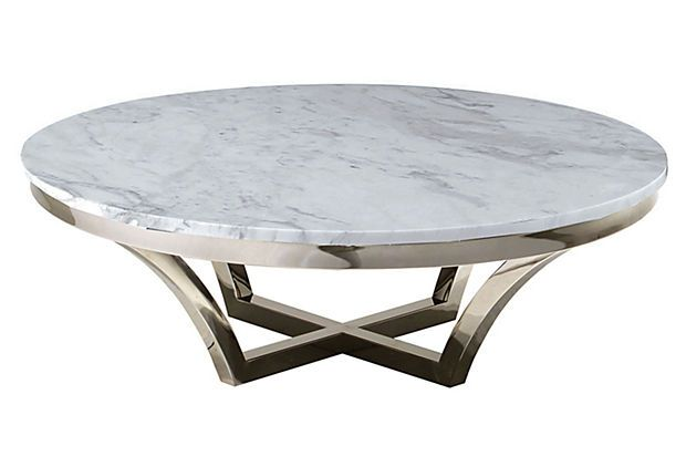 Aurora Marble Coffee Table Round Coffee Table Table Modern