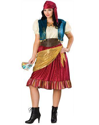 Womens Gypsy Plus Size Costume Womens Egyptian/Arabian Halloween