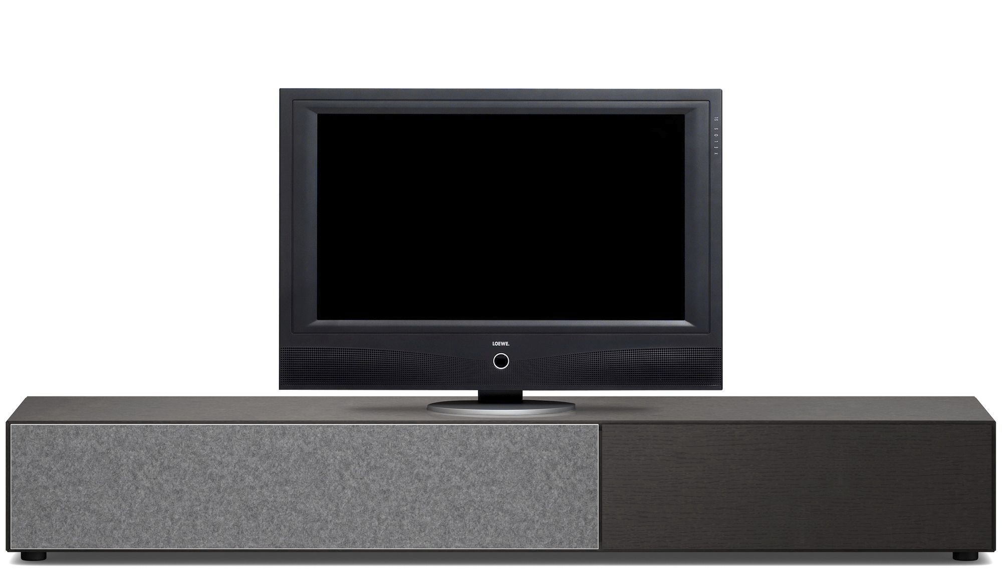 Contemporary tv cabinet hi fi mdf glass lugano for Boconcept meuble tv
