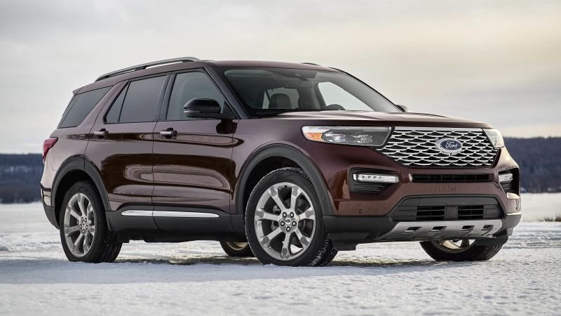 New Ford Explorer Suv Debuts Ahead Of Detroit Auto Show Ford Explorer 2020 Ford Explorer Ford Suv