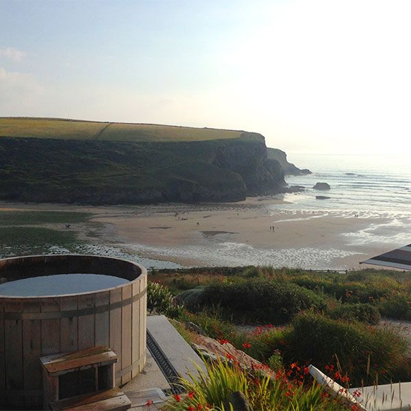 Romantic Country Hotels Uk: View From The Scarlet Hotel Cornwall